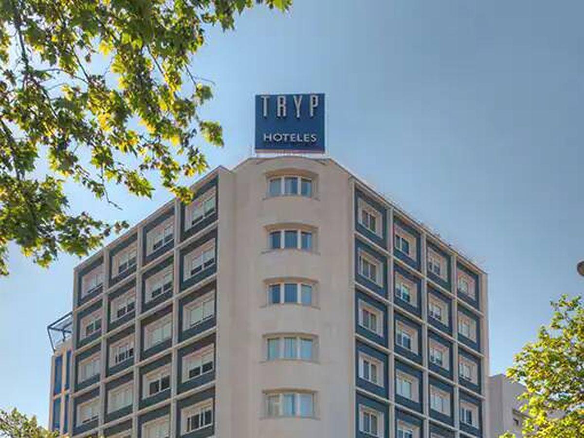 Photo: Hotel Tryp Chamberí, located on José Abascal Street (Madrid).