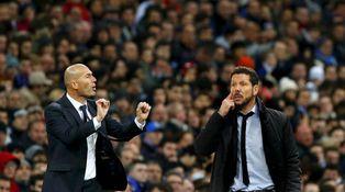 Florentino, Zidane, Casemiro, Simeone, Gabi, Godín y el último derbi en el Calderón