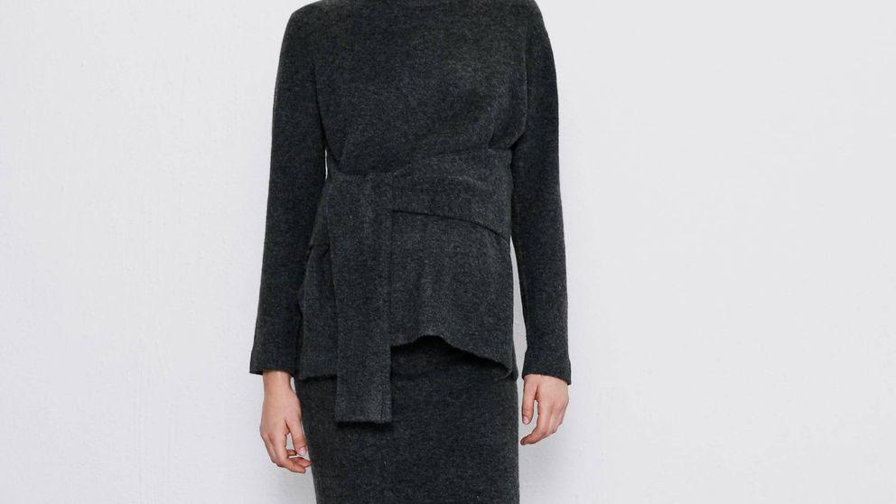 El conjunto de falda y jersey de Zara Mum que hará lucir trendy a cualquier embarazada