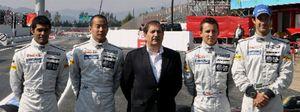 Foto: Carabante 'ficha' a Boyer, Tapias y Cortina para su equipo español de Fórmula 1