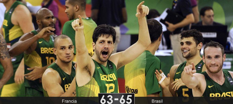 Brasil demuestra ante Francia que viene dispuesta a todo en este Mundial