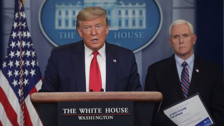 Donald Trump en una rueda de prensa. (Reuters)