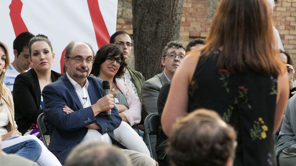 Lambán gana el primer asalto a Sánchez en Aragón y encauza las primarias a su favor