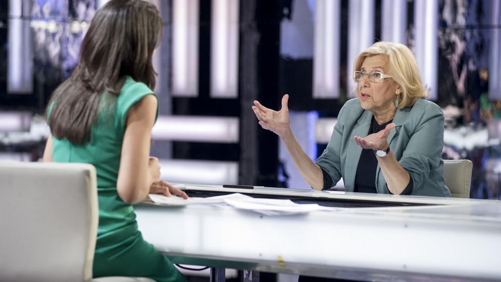 'El Objetivo' de Ana Pastor sube casi 3 puntos gracias a Manuela Carmena