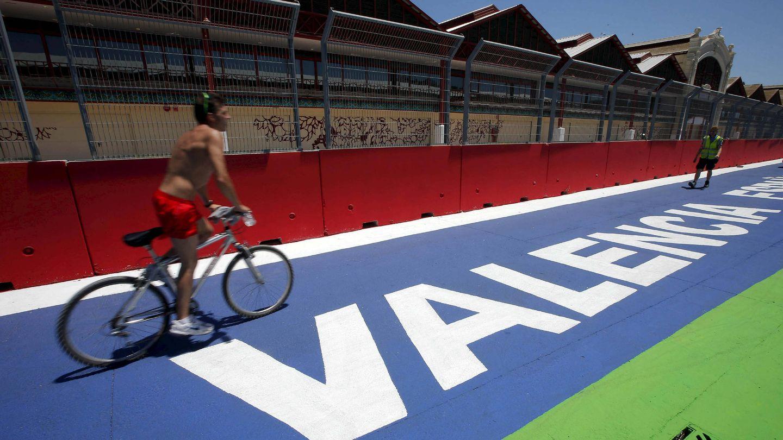 Imagen de 2012 del Valencia Street Circuit, que acogió el Gran Premio de Europa de Fórmula 1 durante cuatro años. (EFE)