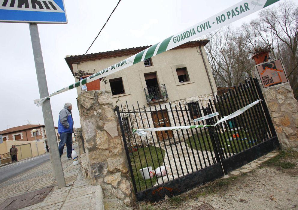 Incendios seis muertos al arder una casa de turismo rural for Casa rural mansion terraplen seis