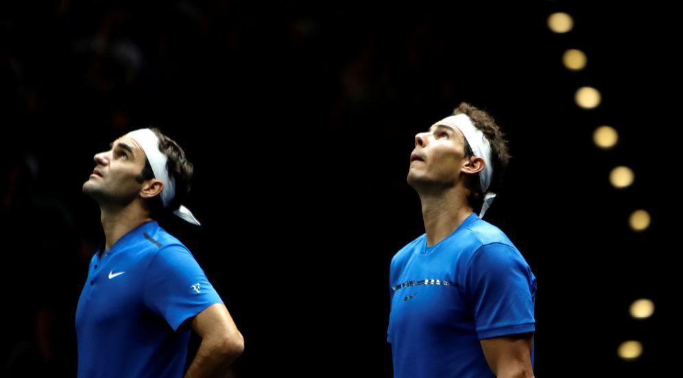Foto: En la imagen, Roger Federer y Rafa Nadal. (Reuters)