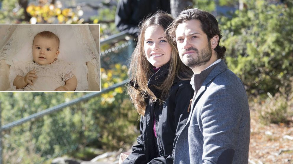 Carlos Felipe y Sofía dan las gracias con una imagen inédita de Alexander