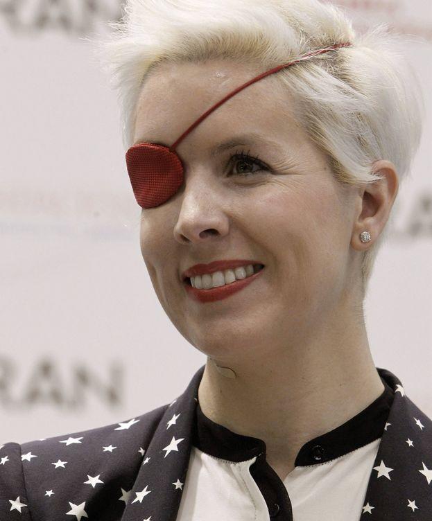 Foto: María de Villota en un acto de febrero de 2013. (EFE)