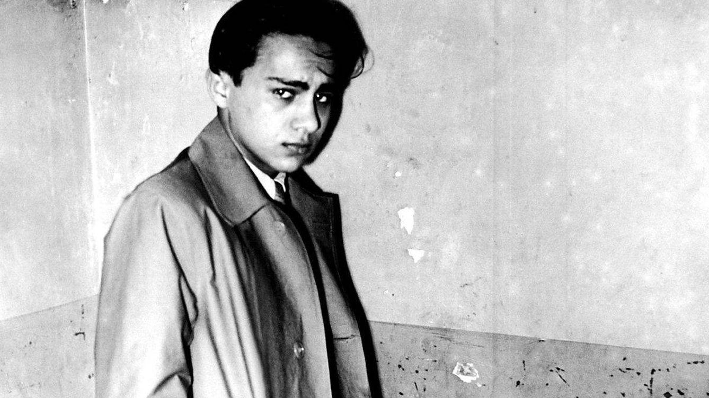 Foto: Herschel Feibel Grynszpan, tras su detención por la policía francesa. (Bundesarchiv, Bild)