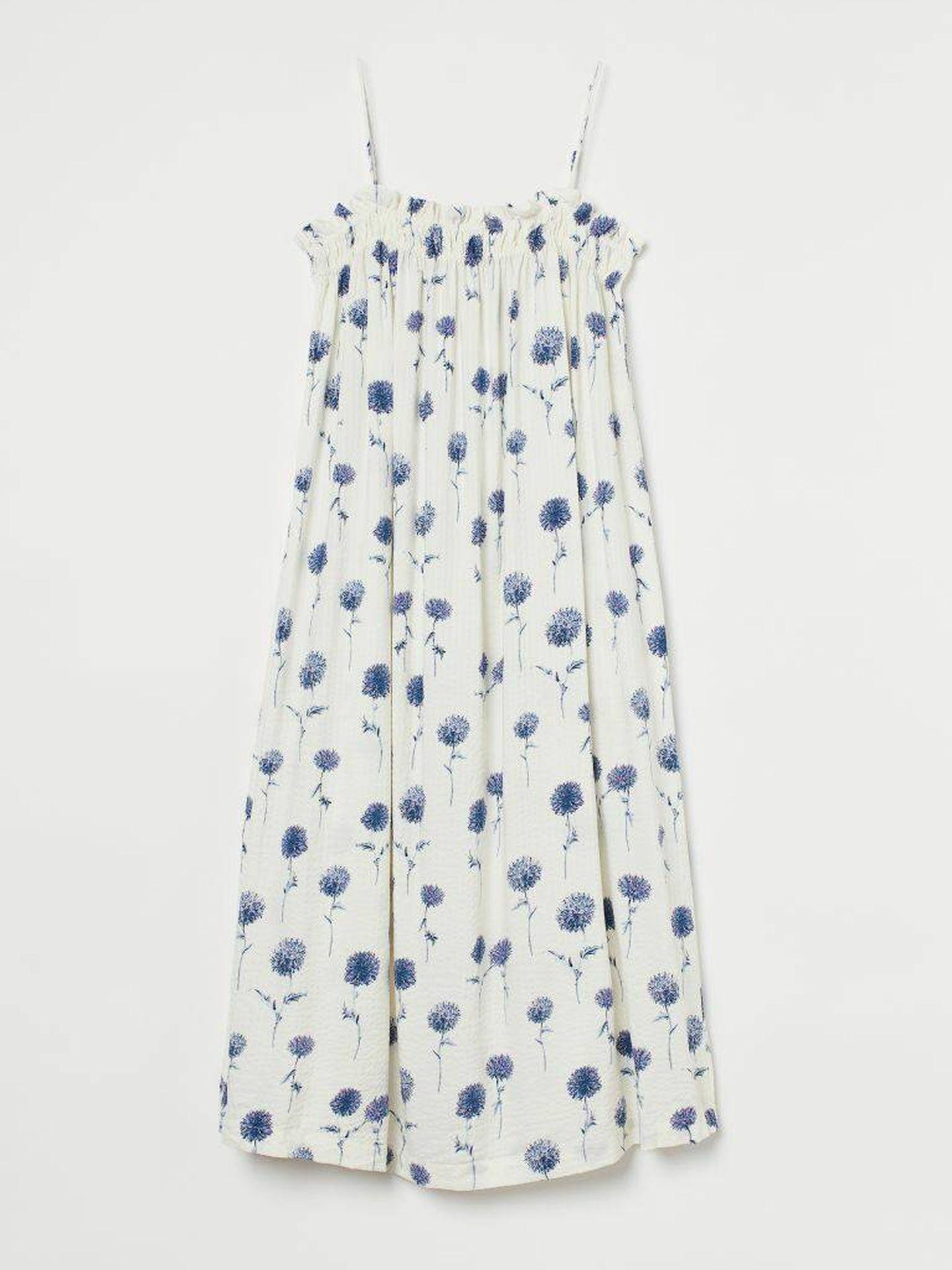 El vestido low cost y ligero de HyM. (Cortesía)