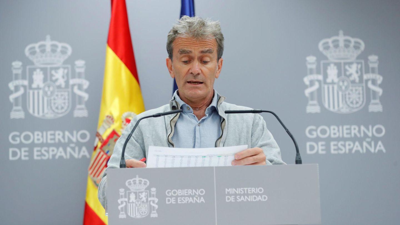 El director del Centro de Alertas Sanitarias, Fernando Simón. (EFE)
