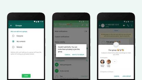Ya puedes evitar que te incluyan en un grupo de WhatsApp sin tu permiso. ¿Cómo hacerlo?