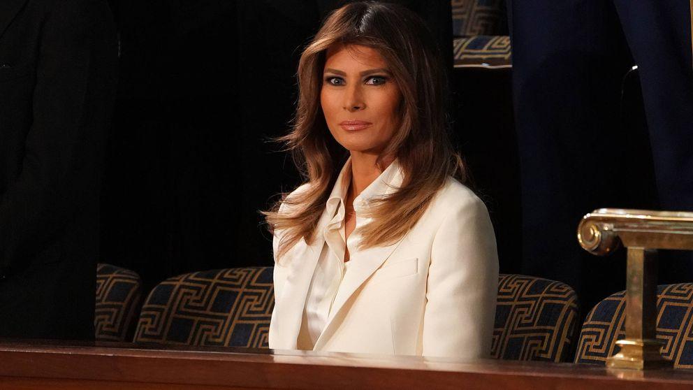 Melania Trump desafía de nuevo a su marido entre los rumores de crisis