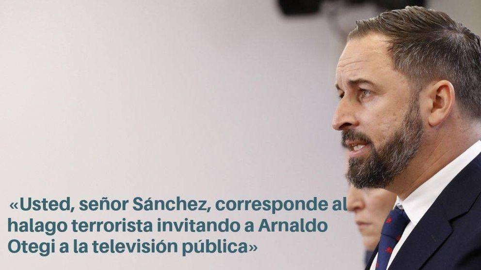 20 frases de Abascal durante la investidura: ETA, impuestos y la España que madruga