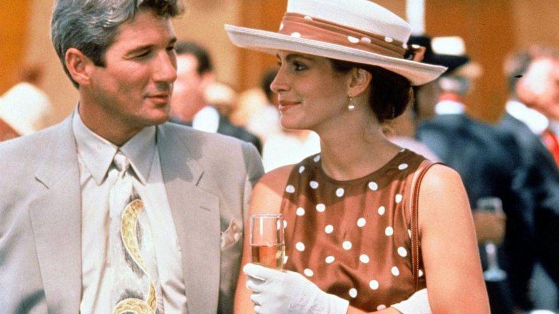 Julia Roberts con el mítico vestido en 'Pretty Woman'.