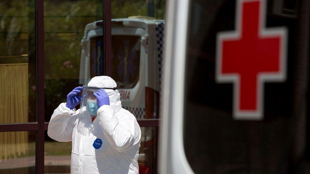 Foto: Personal sanitario andaluz en una imagen de archivo. (EFE)
