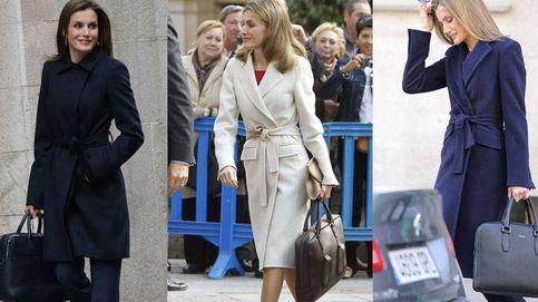 La colección de maletines de la Reina: cuatro casi idénticos de 500 euros cada uno
