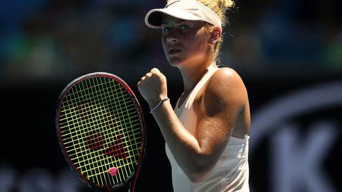 Estoy asustada o cuando la gran estrella del Open de Australia tiene sólo 15 años