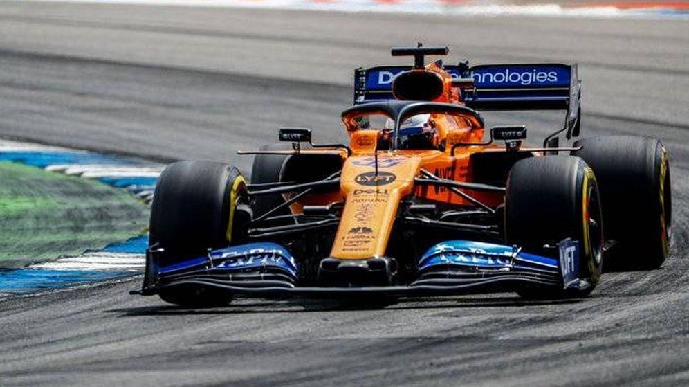 Foto: Carlos Sainz al volante del McLaren en Alemania. (McLaren)