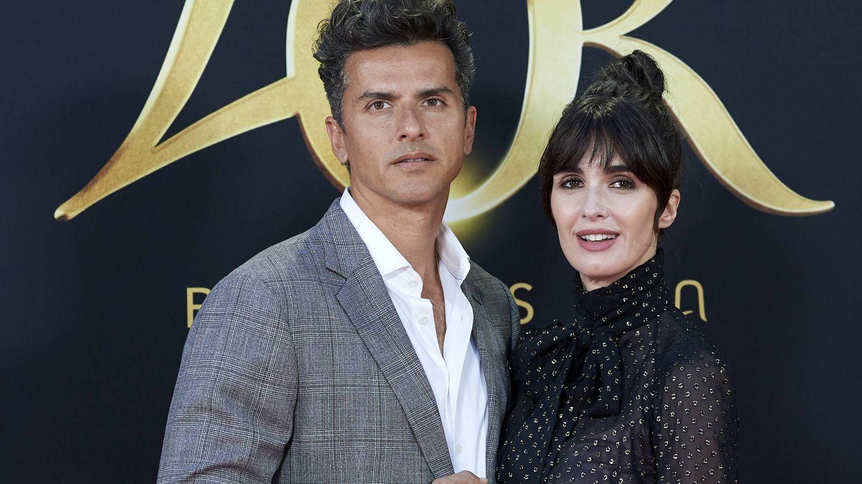 Orson Salazar y Paz Vega. (Getty)