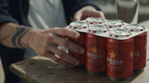 Estrella Damm sustituye sus anillas de plástico por cartón 100% biodegradable