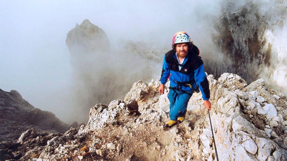 Foto: Reinhold Messner, en los Dolomitas. (EFE)