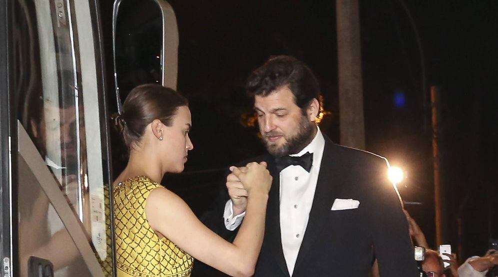 Foto: Alana Bunte y Casimir Sayn, en la boda de Sassa de Osma. (Gtres)