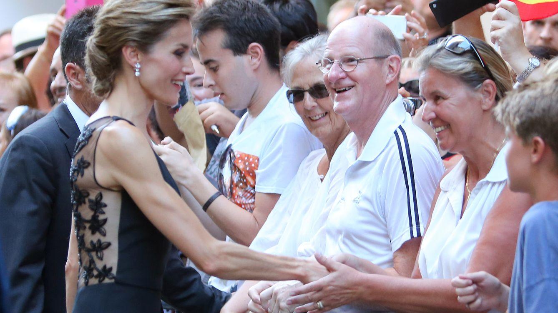 Foto: La Reina Letizia en Málaga, en una imagen de archivo