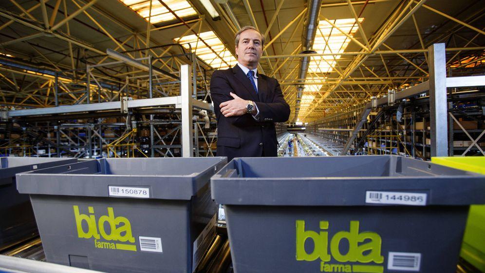 Foto: Antonio Pérez Ostos, presidente de Bidafarma. (Pepo Herrera)