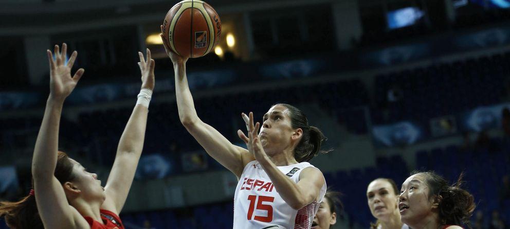 España echa el cerrojo ante China y se mete en semis de un Mundial por segunda vez