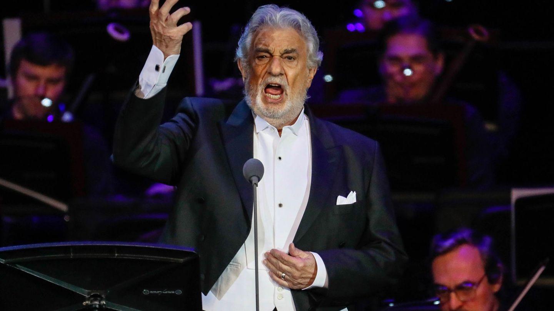 Concierto de Plácido Domingo el pasado octubre en Moscú. (EFE)