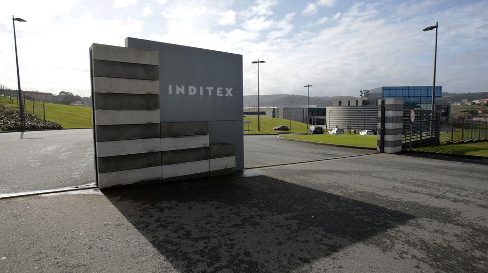 Foto: Entrada a las oficinas de Inditex (Reuters)