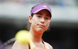 Garbiñe Muguruza: A todos nos pasa eso de amor odio en el tenis