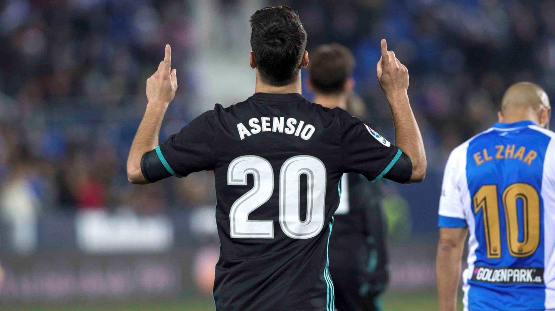 Asensio volvió a marcar después de más de dos meses. (EFE)