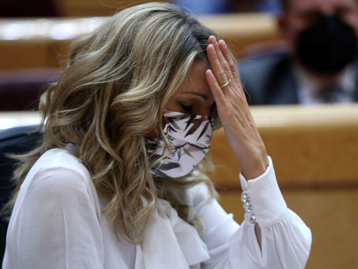 Foto: La vicepresidenta tercera, Yolanda Díaz. (EFE)