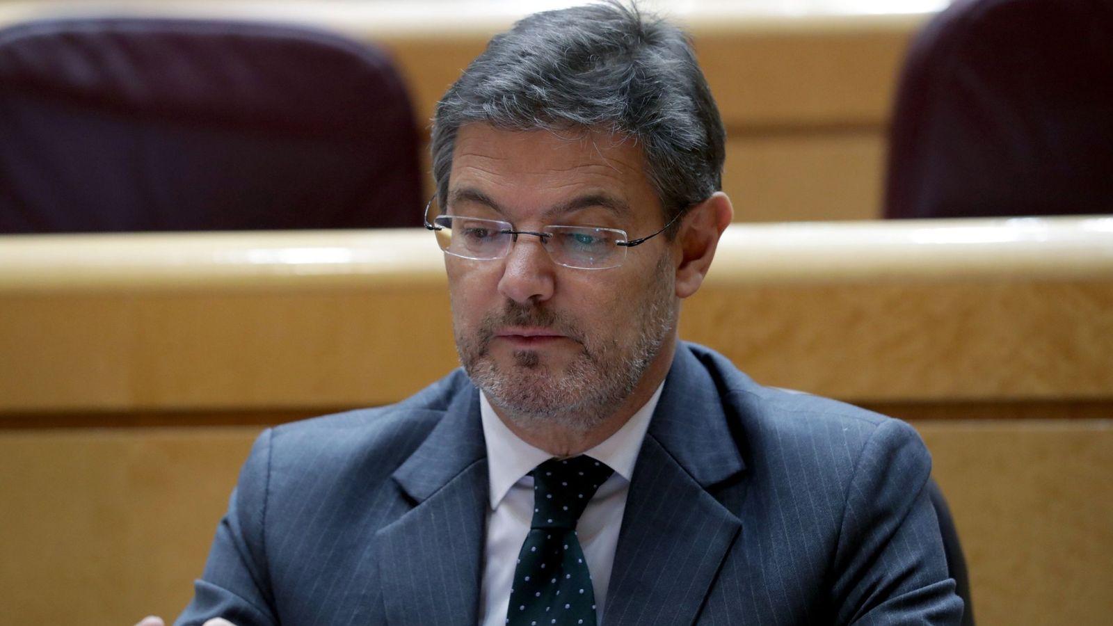 Foto: El ministro de Justicia, Rafael Catalá Polo. (EFE)