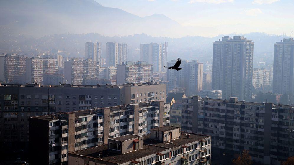 Foto: Vista general de Sarajevo, en noviembre de 2016. (Reuters)