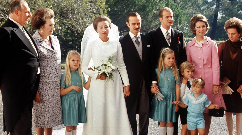 Foto: La Infanta, el día de su boda. (Cordon Press)