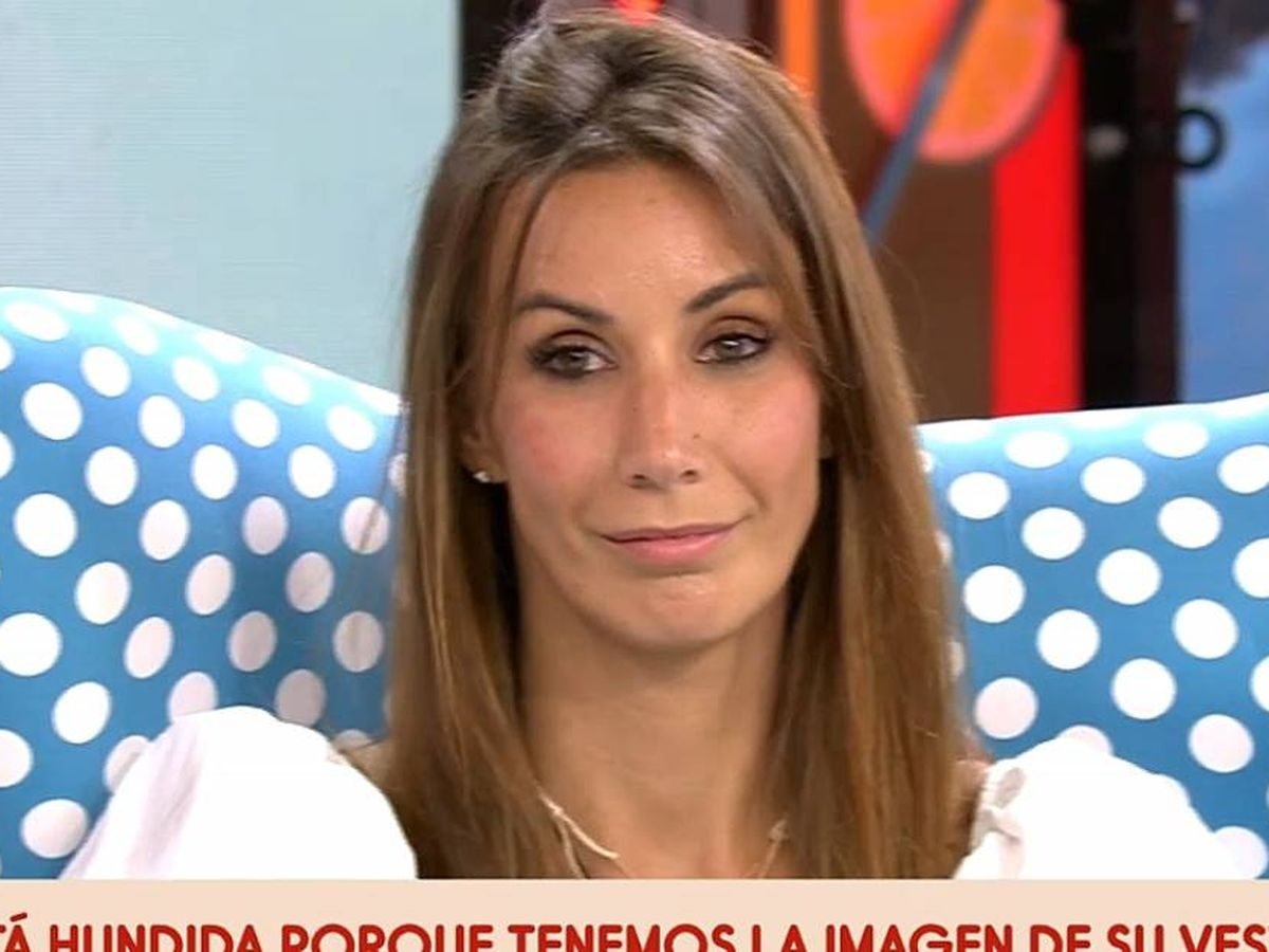 Foto: Fani en 'Sálvame'. (Mediaset España)