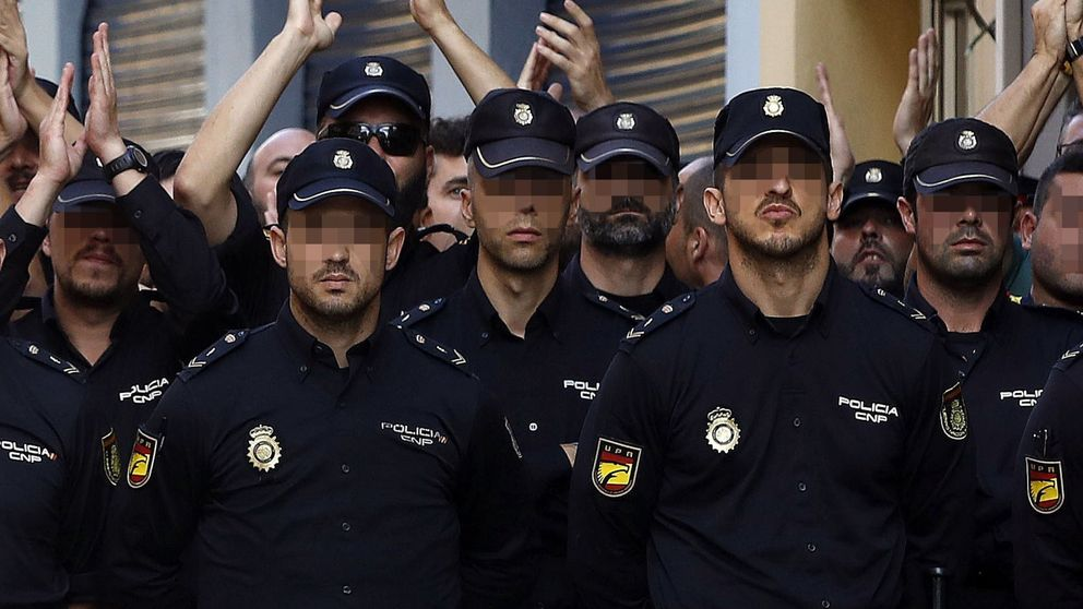 Policías dejan unos días Cataluña para el partido de España y actos en Zaragoza