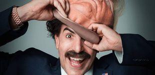 Post de Borat, contra Trump: más irreverente, más escatológico y más puñetero que nunca