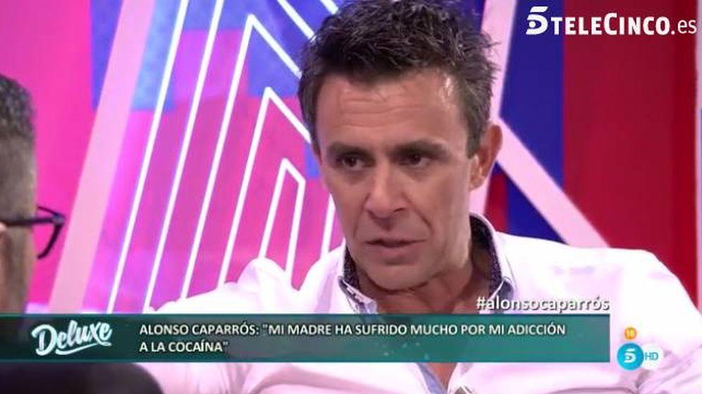 Foto: Jorge Javier Vázquez entrevista a Alonso Caparrós.