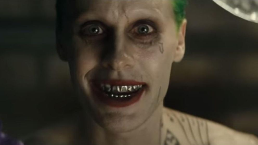 Jared Leto da mucho miedo en el primer tráiler de 'Suicide Squad'