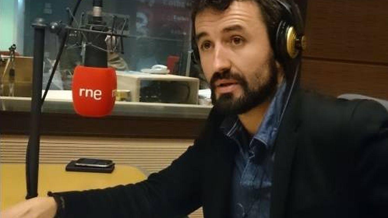 Francisco de Borja en una entrevista en RNE.