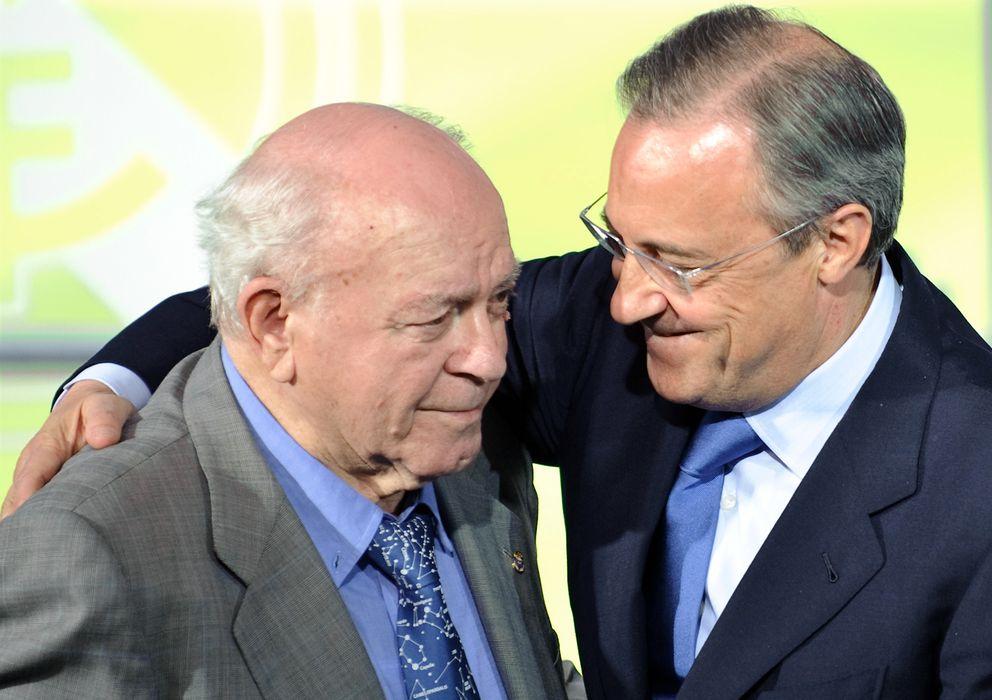 Foto: Alfredo Di Stéfano y Florentino Pérez en una imagen de archivo (Gtres)