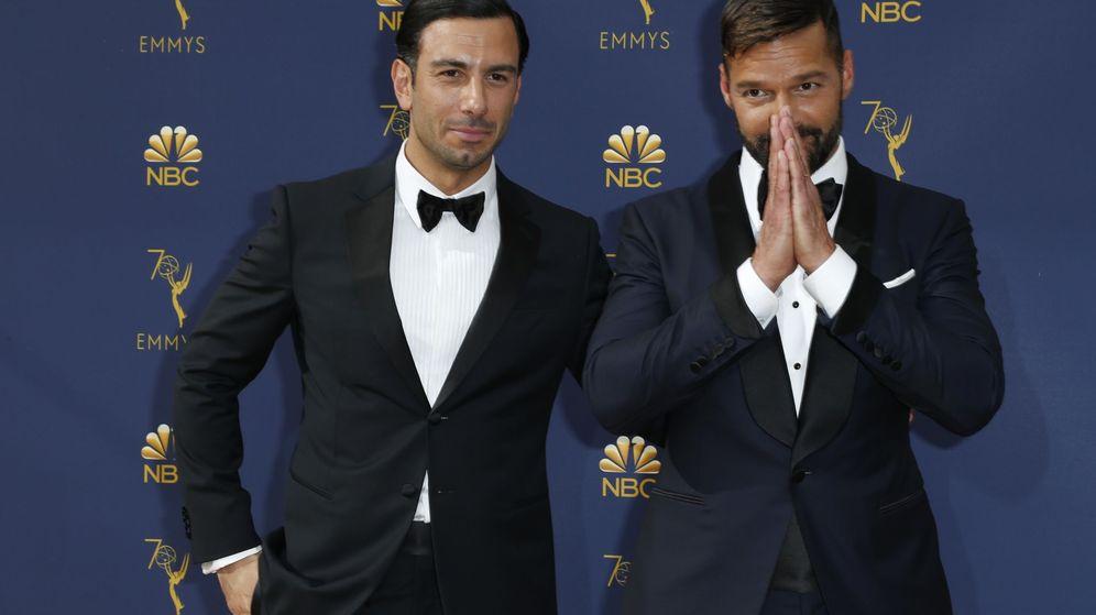 Foto: Ricky Martin y su marido. (Reuters)