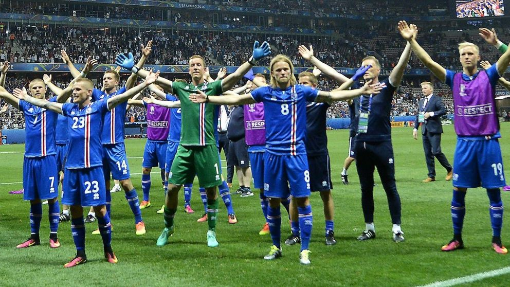 Islandia se la quiere pegar a la potente Francia con su arma secreta: la 'touche'