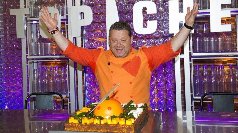 Foto: Chicote presenta la temporada 2014 de Top Chef. (Gtres)
