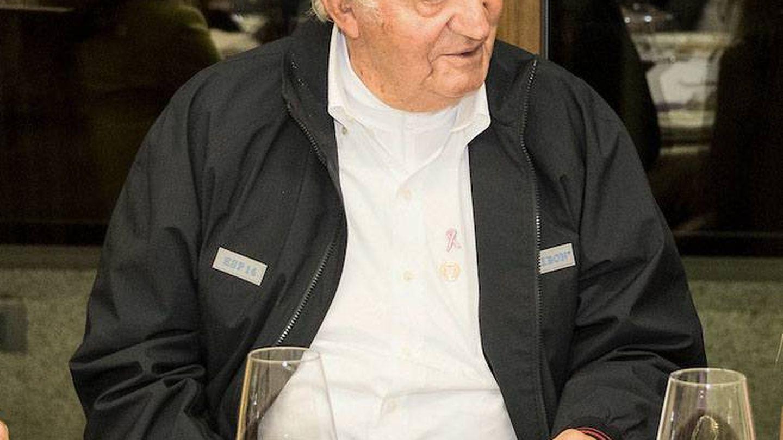 El rey Juan Carlos el pasado fin de semana. (Cordon Press)